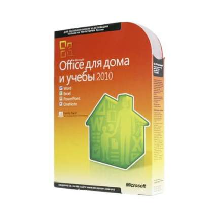 Office 2010 Home and Student (x32/x64) RU BOX