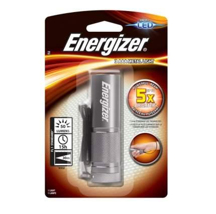 Фонарь Energizer Metal Light 3AAA серебристый (638842)