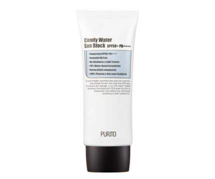 Purito Солнцезащитный крем на водной основе Purito Comfy Water Sun Block SPF50+PA++++