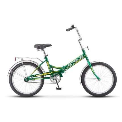 """Велосипед Stels Pilot 410 2016 13.5"""" черный/зеленый"""