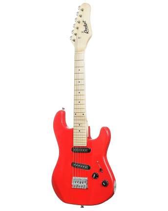 Электрогитара детская цвет красный ROCKET ST-32 RD