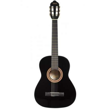 Классическая Уменьшенная (детская) гитара размер 3/4 Valencia Vc103bk