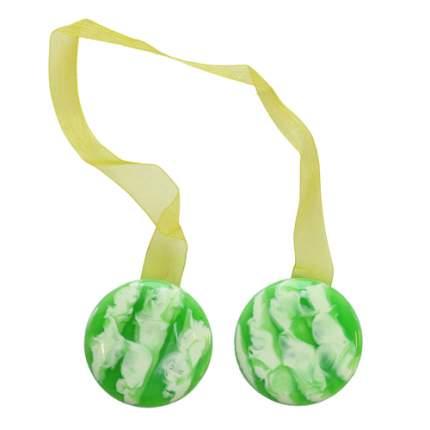 Клипса-магнит для штор, 1шт/упак зеленый