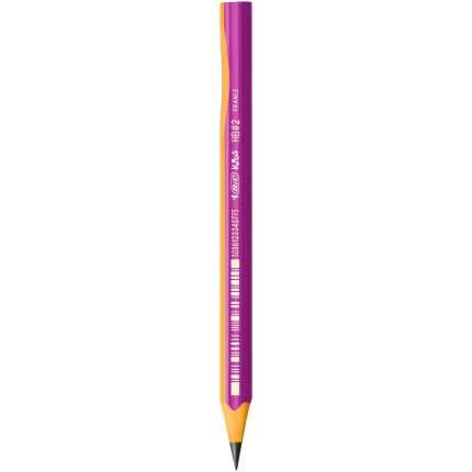 Набор чернографитовых карандашей для обучения BIC Kids Evolution Pink HB 12 шт
