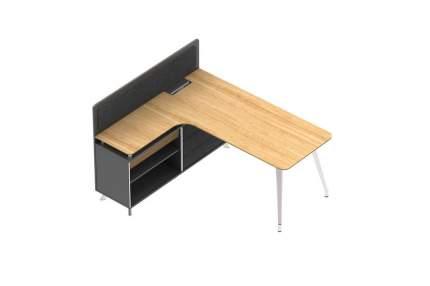 Стол для руководителя левый I-Varna 1718x1500х1100 арт.DV87L.17