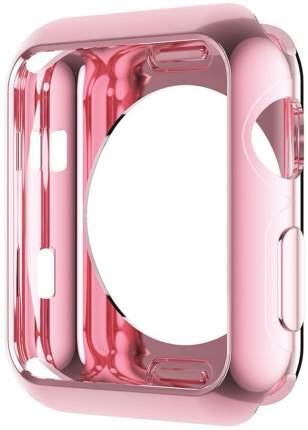Чехол для смарт-часов Eva для Apple Watch 44 mm - Розовый (ADC005P)