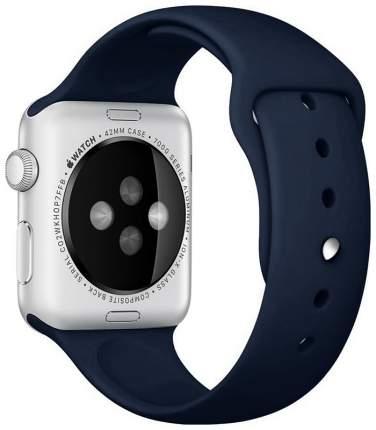 Чехол для смарт-часов Eva для Apple Watch 42/44 mm Синий кобальт (AWA001BC)
