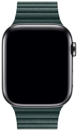 Чехол для смарт-часов Eva для Apple Watch 42/44 mm Тёмно-Зеленый (AWA008GR)