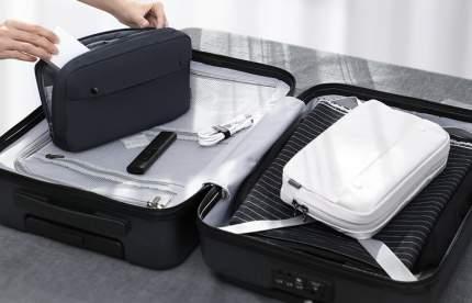 Дорожный органайзер Baseus Basics Series Digital Device Storage Bag S молочный