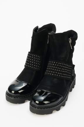 Ботинки детские Indigo, цв.черный р.39