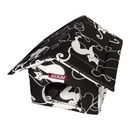 Домик для кошек, для собак Xody, Будка №1, Кошки, 30x30x32см
