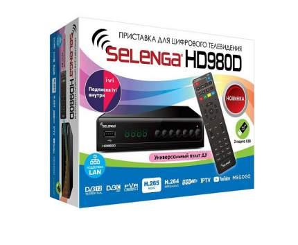 DVB-T2 приставка Selenga HD980D/0040 Black