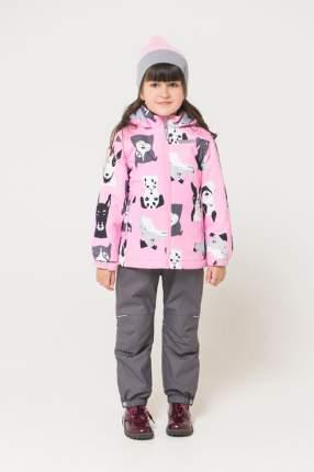 Куртка Crockid ВК 32095/н/2 ГР цв.розовый р.98