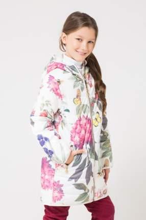 Пальто Crockid ВК 32085/н/1 ГР цв.белый р.140