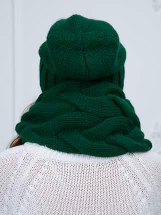 Шапка женская Siberika 1042 зеленая