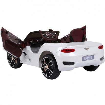 Детский электромобиль Jiajia Bentley EXP12 White 12V JE1166