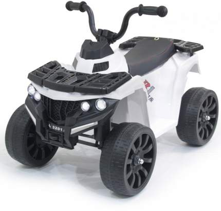 Детский квадроцикл FUTAI R1 на резиновых колесах белый 6V 3201-WHITE