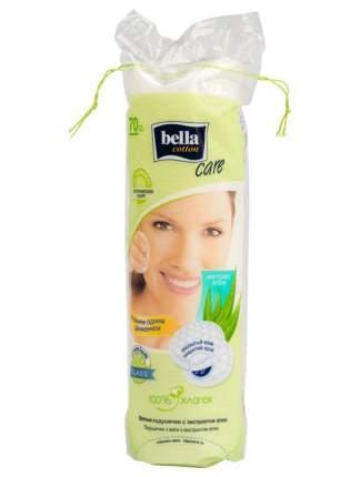 Ватные подушечки Bella экстракт алоэ 70 шт