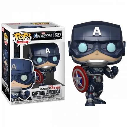 Фигурка Funko Pop! Avengers Game Captain America Stark Tech Suit №627