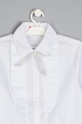 Блузка для девочки Button Blue, цв.белый, р-р 170