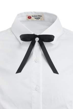 Блузка для девочки Button Blue, цв.белый, р-р 128