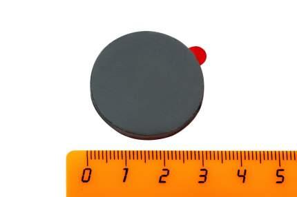 Ферритовый магнит Forceberg 30х3 мм (диск) с клеевым слоем, 4 шт,