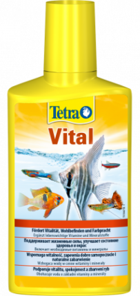 Кондиционер для поддержание параметров воды Tetra Vital, с йодом и витамином В, 500 мл
