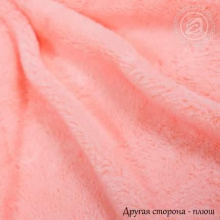 """Покрывало меховое """"Шиншилла"""" (Розовое) 180х220"""
