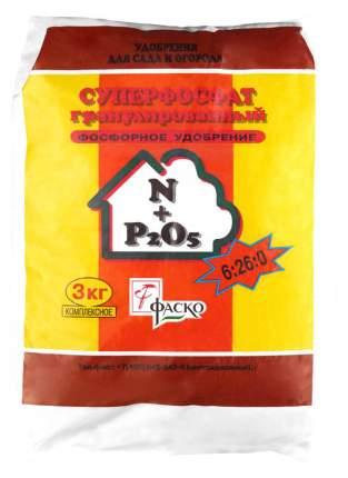 Минеральное удобрение Фаско 404 Суперфосфат гранулированный 3 кг