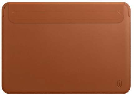 Чехол WIWU Skin New Pro 2 Leather Sleeve для MacBook Pro 16 Brown