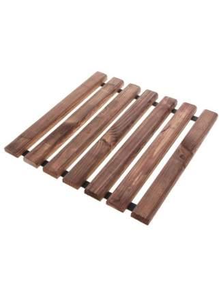 Дорожка садовая деревянная Гавриш 40х40 см цвет коричневый