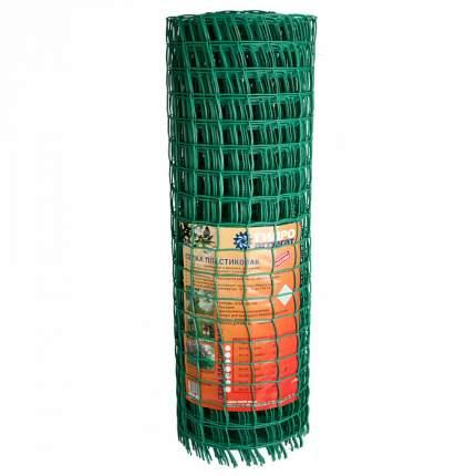 """Сетка """"Гидроагрегат"""" садовая, квадратная, ячейка 50х50, 1х20 м, зеленая"""