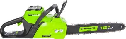 Цепная аккумуляторная пила GreenWorks GD60CS40K2 (арт. 2001807UA)