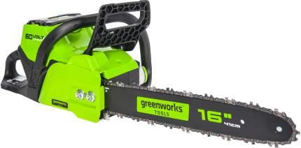 Аккумуляторная цепная пила Greenworks GD60CS40 (арт. 2001807)
