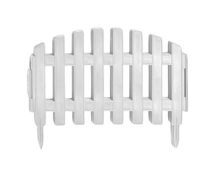 Заборчик декор.пластм.(3м)белый