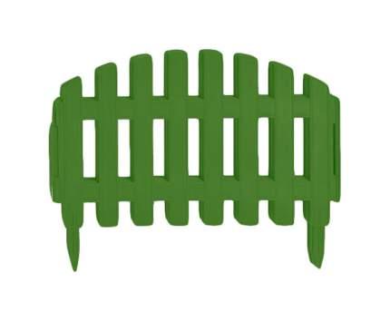 Заборчик декор.пластмассовый (3м.)зеленый