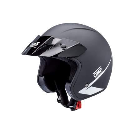 Шлем OMP Racing SC607E170M STAR открытый черный, р-р M