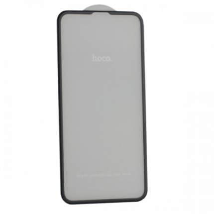 Защитное стекло Hoco tempered glass Nano 3D A12 для iPhone 11, XR Black