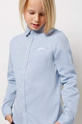 Рубашка Acoola 20140280067/ цв.синий р.158