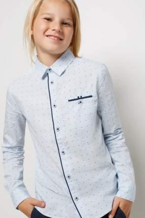 Рубашка Acoola 20140280068/ цв.голубой р.158