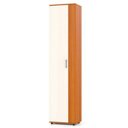 Шкаф бельевой Мебельный Двор П5 вишня/дуб, 50х36х216 см