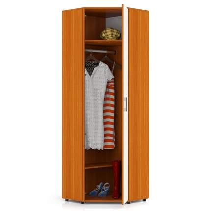 Шкаф угловой Мебельный Двор П5 вишня/дуб, 70х70(36)х216 см., универс. дверь