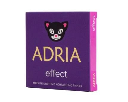 Линзы контактные Adria Effect color 2 pack Диоптрии -0,00, R 8.6, цвет IVORY