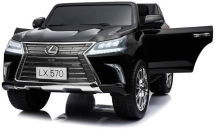 Детский электромобиль Lexus LX570 4WD MP4 DK-LX570-BLACK-PAINT-MP4
