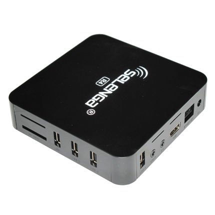 Приемник телевизионный DVB-T2 Selenga R4 4К