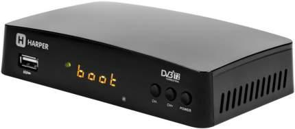 DVB-T2 приставка Harper HDT2-1511 Black