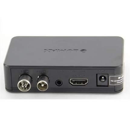 DVB-T2 приставка Lumax DV-1120HD Black