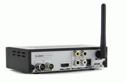 DVB-T2 приставка Lumax DV-4207HD Black