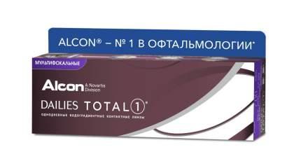 Линзы Контактные Dailies Total 1 MULTIFOCAL 30 pack Диоптрии -4,50, R 8.5, Аддидация M