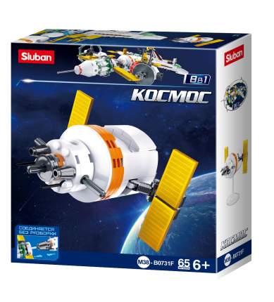 Конструктор Sluban Космос космическая научная станция, 65 деталей